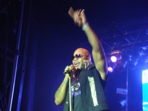 Flo Rida, live in concert.