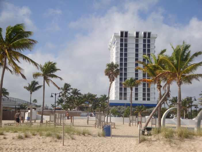 Bahia Mar, my hotel in Ft. Lauderdale.